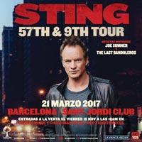 Concierto de Sting en Barcelona en marzo de 2017