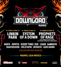 Novedades del Download Festival en Madrid