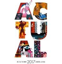 Cartel musical para el Actual Festival 2017