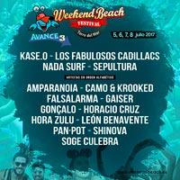 Los Fabulosos Cadillacs al Weekend Beach Festival 2017
