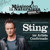 Sting en Músicos en la Naturaleza Gredos 2017