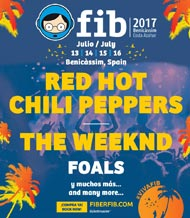 The weeknd y Foals al FIB 2017
