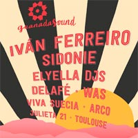 Sidonie y WAS al Granada Sound 2017