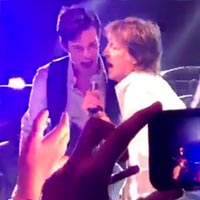 The Killers y Paul McCartney juntos
