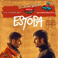 Estopa al Weekend Beach Festival 2017