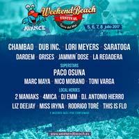 Lori Meyers al Weekend Beach Festival