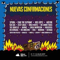 Spoon y Cage the Elephant al Bilbao BBK Live 2017