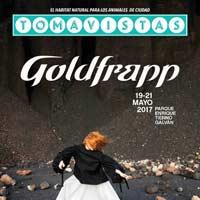 Goldfrapp al Tomavistas 2017