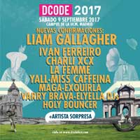 Liam Gallagher y Charli XCX al DCode 2017