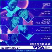 Nominaciones a los MTV VMAs 2017