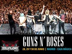 Conciertos de Guns & Roses en Madrid y Barcelona