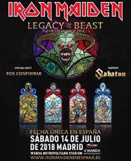 Concierto de Iron Maiden en Madrid