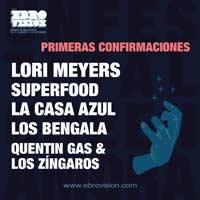 Primeras confirmaciones para el Ebrovisión 2018