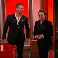 Bono y Chris Martin en modo Frank Sinatra