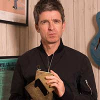 "Noel Gallagher nº1 en UK con ""Who built the moon?"""