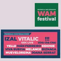 Primeros nombres del WAM Murcia 2018