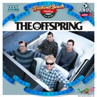 The Offspring al Weekend Beach Festival 2018