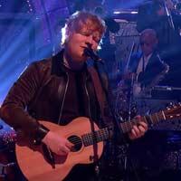 Ed Sheeran en modo Eric Clapton