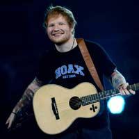 Ed Sheeran inicia 2018 liderando las listas británicas