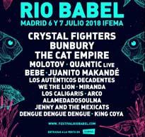 Cartel 2ª edición del Festival Río Babel
