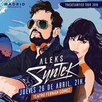 Concierto de Aleks Syntek en Madrid