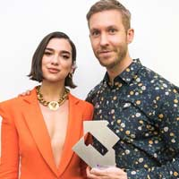 "Calvin Harris y Dua Lipa nº1 en UK con ""One kiss"""