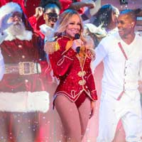 Mariah Carey en concierto en Madrid
