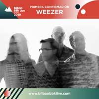 Weezer al Bilbao BBK Live 2019