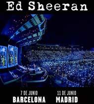 Ed Sheeran de vuelta en Barcelona y Madrid