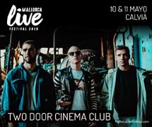 Two Door Cinema Club al Mallorca Live Festival
