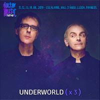 King Crimson y Underworld en el Doctor Music Festival 2019
