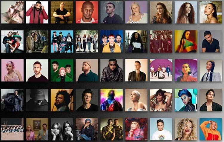 Nominaciones a los Brit Awards 2019
