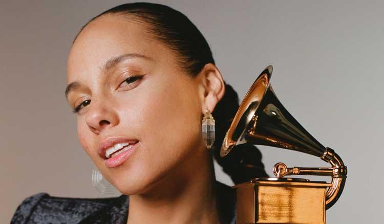 Alicia Keys presentará la 61ª edición de los premios Grammy