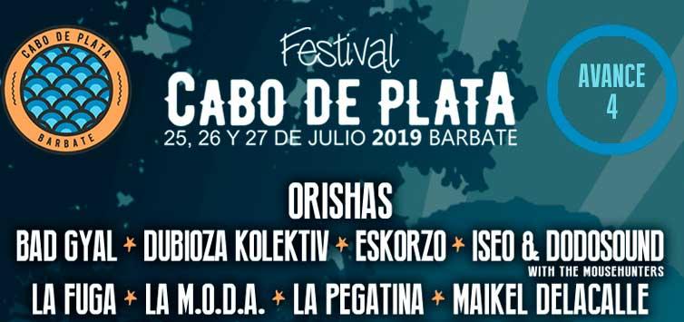 Orishas al Festival Cabo de Plata 2019