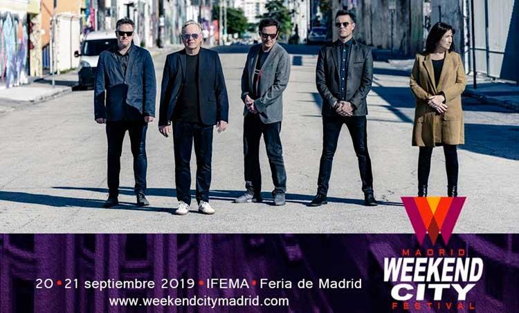 New Order al Weekend City Madrid