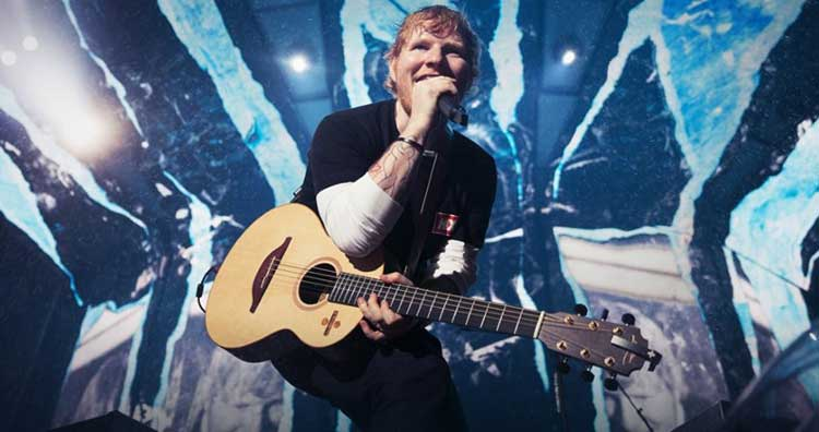 Ed Sheeran 4ª semana nº1 en UK con 'No.6 collaborations...'