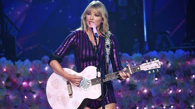 Taylor Swift nº1 en España con 'Lover'
