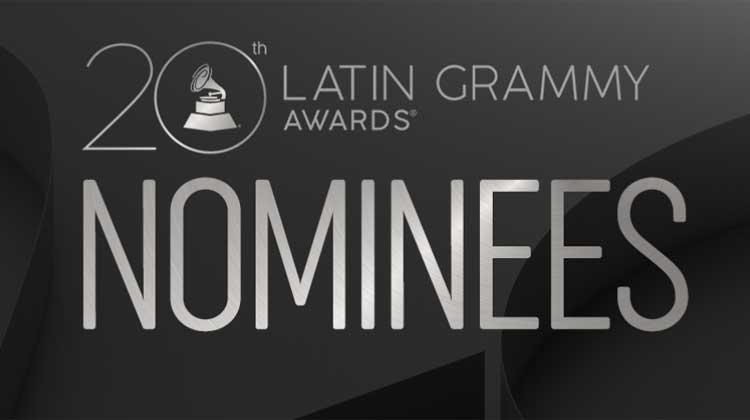 Nominaciones a la 20ª edición de los Grammy Latinos