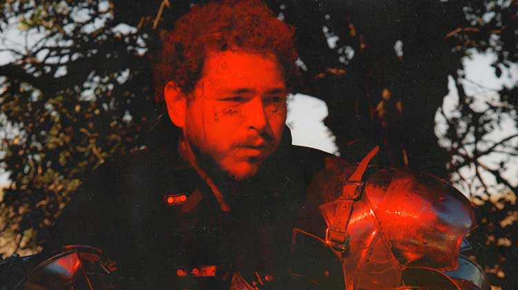 Post Malone sigue nº1 en USA con Hollywood's bleeding