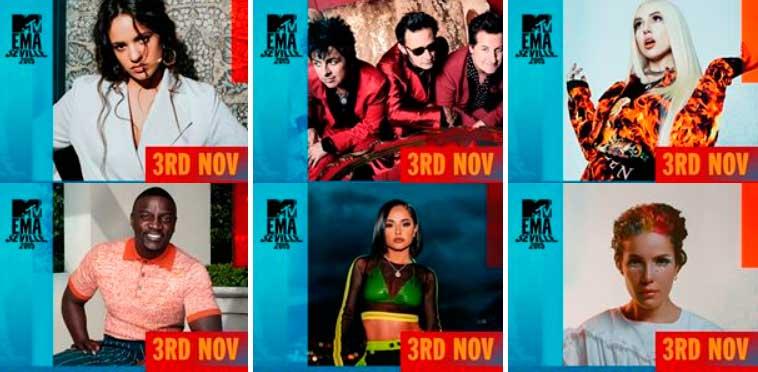 Actuaciones MTV EMAs 2019