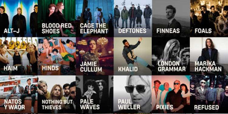 Cartel por días de Mad Cool Festival 2020