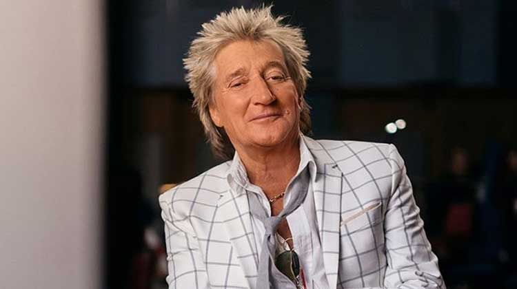 "Rod Stewart 3ª semana nº1 en discos en UK con ""You're in..."""