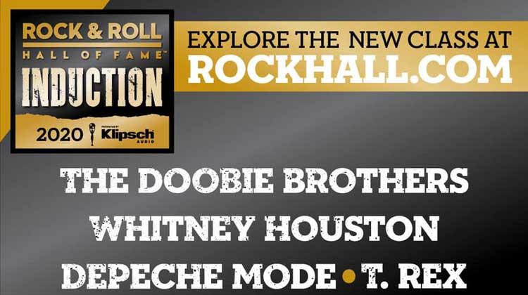 Depeche Mode y Whitney Houston al Rock & Roll Hall of Fame