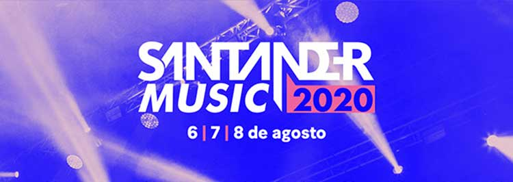 Cartel del Santander Music 2020
