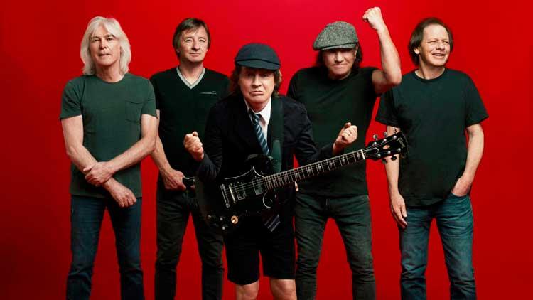 AC/DC nº1 en la Billboard 200 con 'Power up'