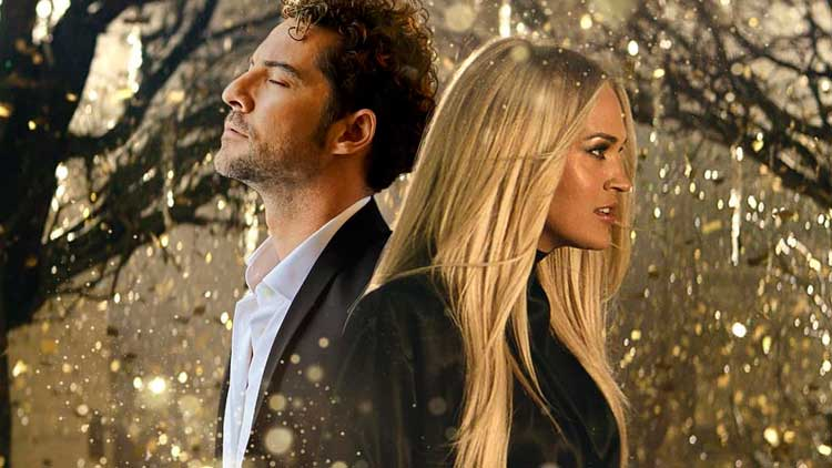 David Bisbal con Carrie Underwood en los videos de la semana
