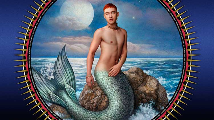 Olly Alexander en la portada del álbum 'Night call' de Years & Years