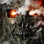 Cartel en movimiento de Terminator Salvation