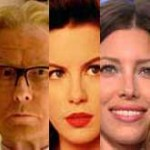 Bill Nighy, Kate Beckinsale y Jessica Biel