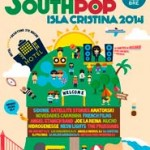 Cartel completo del South Pop Isla Cristina 2014